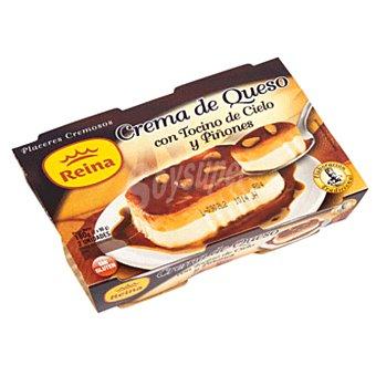 Postres Reina Tocino cielo con queso y piñones Pack 2 x 90 g - 180 g