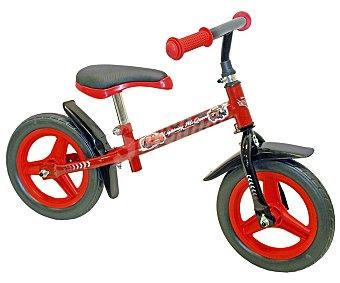 TOIMSA Bicicleta Infantil Cars de Disney sin Pedales, 10 Pulgadas 1 Unidad