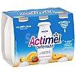 L-casei multifrutas Danone 6 x 100 ml Actimel Danone