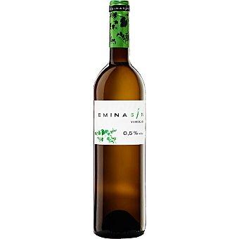 Eminasin Vino blanco verdejo 0,5 % de alcohol de la tierra de Castilla y León botella 75 cl Botella 75 cl