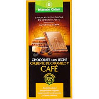 Intermón Oxfam Chocolate con leche sabor caramelo-café Tableta 100 g