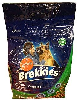 Brekkies Affinity  COMIDA PERRO ADULTO CROQUETA POLLO Y CEREALES PAQUETE 4250 g
