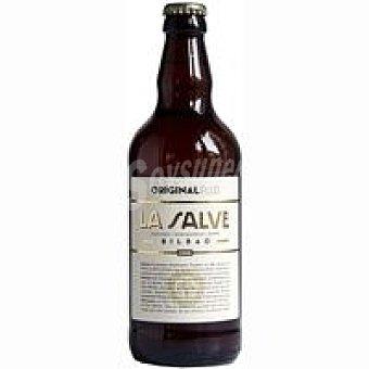 LA SALVE Original Plus Cerveza rubia Botellín 50 cl