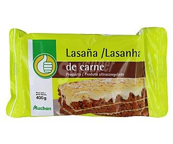 Productos Económicos Alcampo Lasaña rellena de carne 400 gr