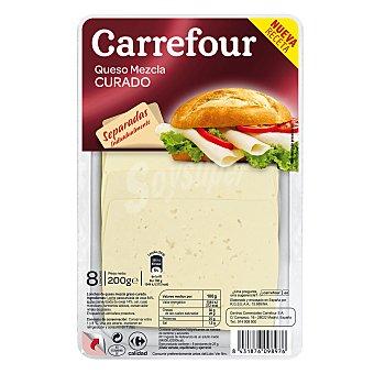 Carrefour Queso en lonchas curado 200 g