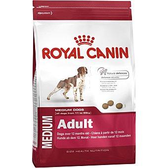 Royal Canin Medium adult pienso para perros adultos de raza mediana meses bolsa 15 kg 11-25 kg + 12
