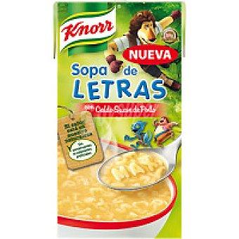 Knorr Sopa de letras Max Brik 500 ml