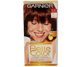 Belle Color Garnier Tinte capilar color caoba nº5.5