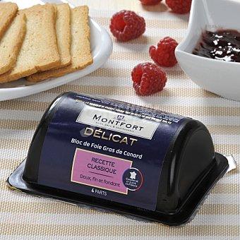 Monfort Bloc de foie grass de pato (origen sur oeste de Francia) 160 g