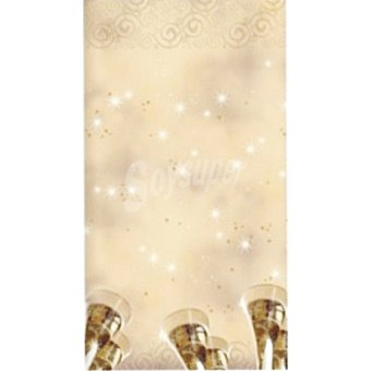 Papstar Mantel New Year Eve 120x180 cm 1 unidad