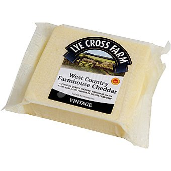LYE CROSS FARM West Country Farmhouse Queso cheddar vintage inglés cuña 200 g