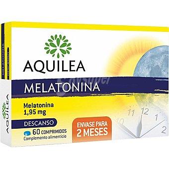 Aquilea Melatonina contribuye a disminuir el tiempo necesario para conciliar el sueño caja 60 comprimidos 60 comprimidos