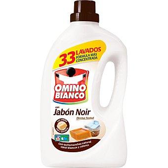 Omino Bianco Detergente líquido para la ropa con jabón noir Garrafa 38 lavados
