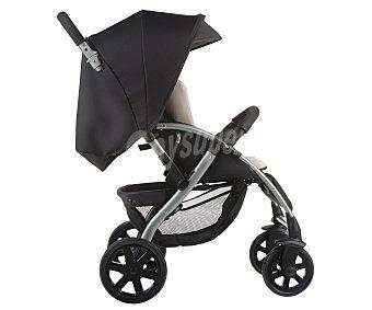 Nurse Silla de paseo ciudad para bebés de 0 a , respaldo reclinable, cesta porta objetos, capota, burbuja lluvia, color negro, MOON NURSE 15 KG