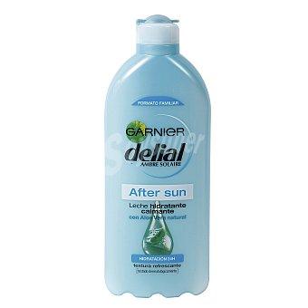 Delial Garnier After sun con leche hidratante calmante con aloe vera hidratacion 24h Frasco 400 ml