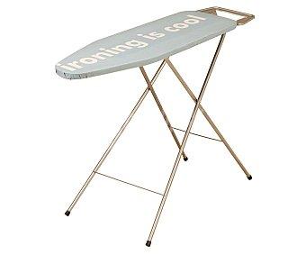 SPIDER Tabla de planchar metálica con funda de algodón y reposaplanchas, 130x49 centímetros 1 unidad