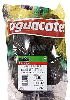 Varios Aguacate Bandeja 3/4 unidades,  600 g aprox