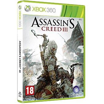 XBOX 360 Videojuego Assassin's Creed III  1 unidad