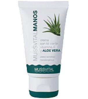 MUSSVITAL Crema Manos aloe/glicerina 50 ml