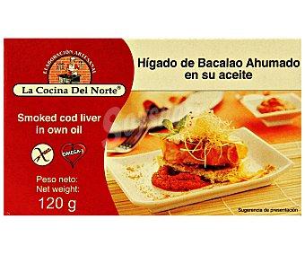 LA COCINA DEL NORTE Hígado de bacalao SOF 121 Gramos