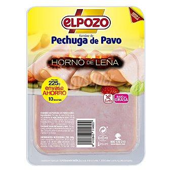 ElPozo Pechuga de pavo Horno de Leña El Pozo sin gluten 225 g