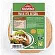 Pan de pita integral Paquete 280 g Natursoy