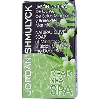 JORDAN SHMULYCK Pastilla de jabón natural de oliva y barro del mar Muerto Envase 125 g