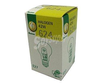 Productos Económicos Alcampo Bombilla ecohalógena estándar E27 42W 1 Unidad
