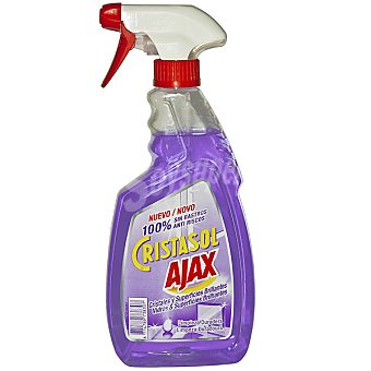 Ajax limpia cristales y superficies brillantes pistola  500 ml