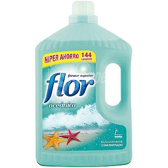 Flor Suavizante concentrado frescor oceánico formato ahorro Botella 144 dosis