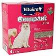 Arena para gatos ultra compact Caja 4 kg Vitakraft
