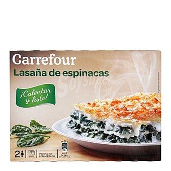 Carrefour Carrefour Lasaña Espinacas 400 g