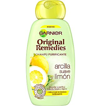 Champu o remedies arcilla limon 250 ML
