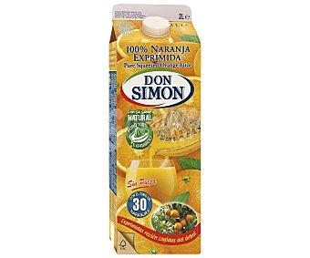 Don Simón Zumo de naranja con pulpa (100% naranja exprimida) 2 litros
