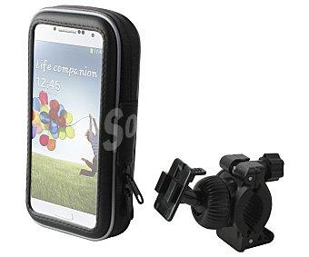 """MUVIT Soporte de bicicleta, universal, resistente al agua, para smartphones de hasta 4,7"""""""