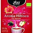 Té aronia hibisco con manzana Caja 24 g Yogi Tea
