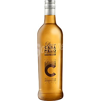 DANKOFF Vodka licor caramelo Botella 70 cl