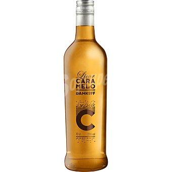 Dankoff Vodka licor caramelo Botella 70 cl