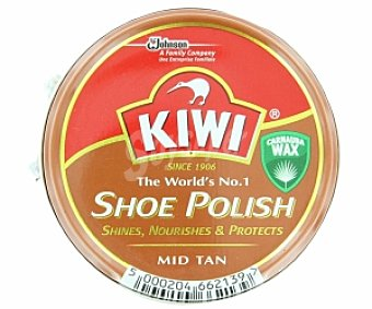 Kiwi Crema para calzado Marrón Medio 50ml