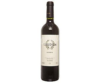 Laudum Vino tinto reserva con denominación de origen Alicante botella de 75 cl