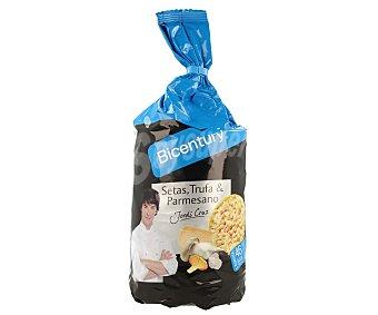 Bicentury Tortitas de maíz sabor setas trufa y parmesano Jordi Cruz Bolsa de 124 g