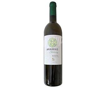 AMARRAS Vino Blanco Chardonnay de Navarra Botella de 75 Centilitros