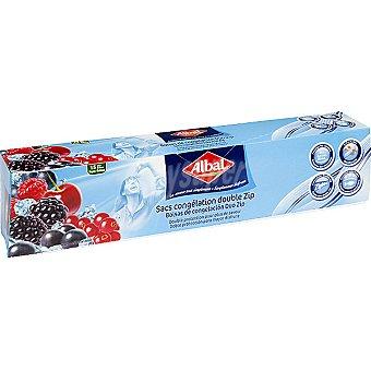 Albal bolsa de congelación Ziploc mediana caja 15 unidades