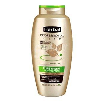 Herbal Champú purificante Pure Fresh 500 ml