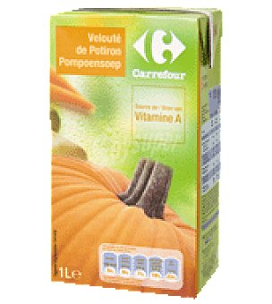 Carrefour Crema de calabaza y hortalizas 1 l