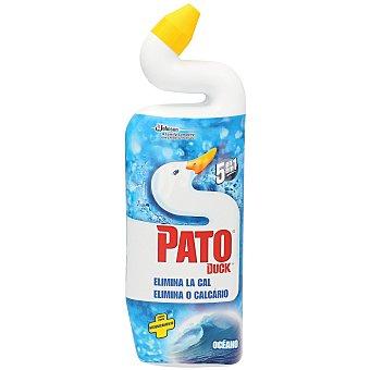 Pato Gel limpiador WC líquido antical aroma oceánico Botella 750 ml