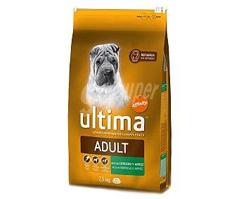 Ultima Affinity Comida seca para perros medianos-adultos rica en cordero y arroz 7,5 kilogramos