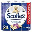 Papel higiénico acolchado Paquete 24 rollos Scottex