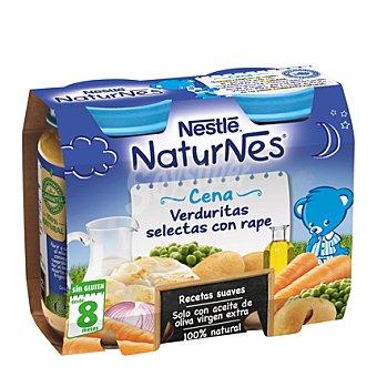Tarrito Cena de verduritas selectas con rape pack 2x200 g