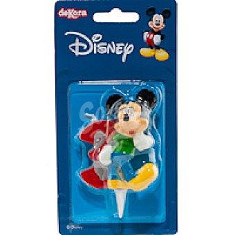 Dekora Vela familia Disney Nº3 1 unidad